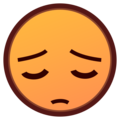 Pensive Face on emojidex 1.0.34