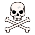 Skull and Crossbones on emojidex 1.0.34