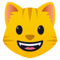Grinning Cat on JoyPixels 5.0