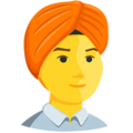 Person Wearing Turban on Messenger 1.0
