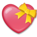 Heart With Ribbon on LG G5