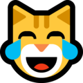 Cat With Tears of Joy on Microsoft Windows 10 May 2019 Update