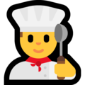 Man Cook on Microsoft Windows 10 May 2019 Update