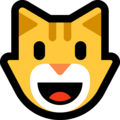 Grinning Cat on Microsoft Windows 10 May 2019 Update