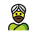 Person Wearing Turban on OpenMoji 12.0