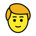 Person: Blond Hair on OpenMoji 12.0