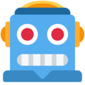 Robot on Twitter Twemoji 12.1.4