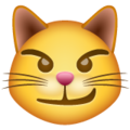 Cat With Wry Smile on WhatsApp 2.19.352
