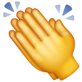 Clapping Hands on WhatsApp 2.19.352