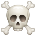 Skull and Crossbones on WhatsApp 2.19.352